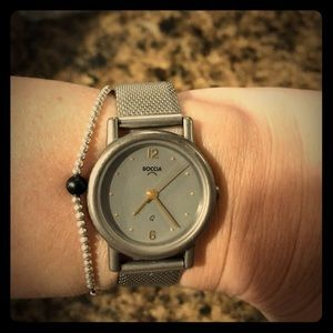 boccia Accessories - Boccia Vintage women's stainless steal watch